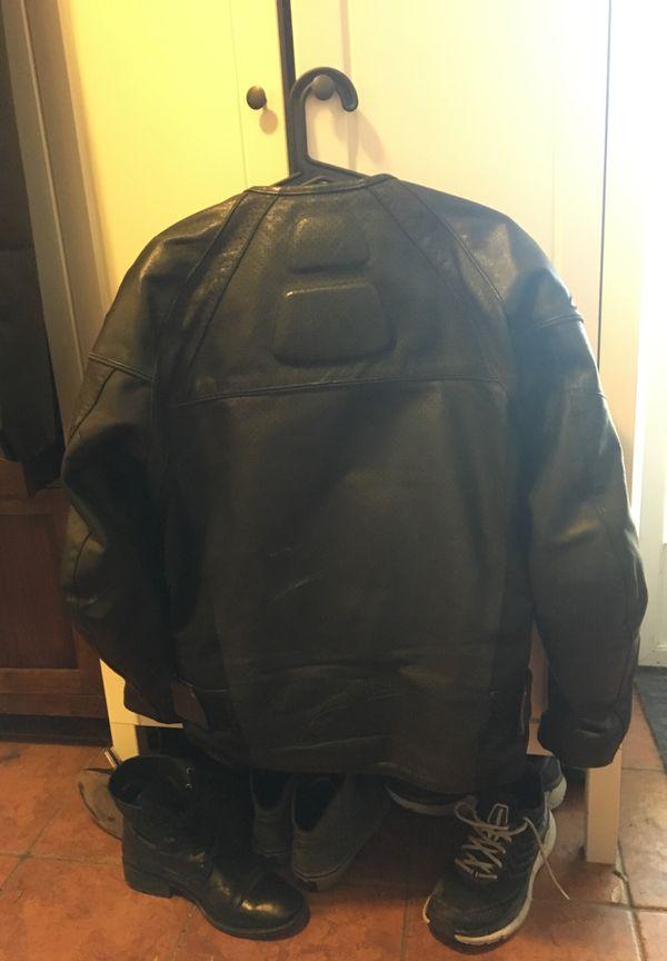 Alpinestars Leather Black Jacket