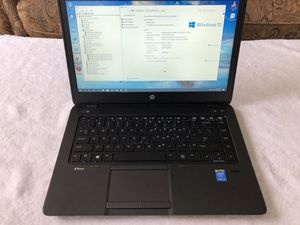Nice, clean, in mint condition HP ZBook 14 G2 Business class laptop i5-5200U 16GB New 240GB SSD AMD Radeon R7 Dedicated Graphics W10 Pro Office 2010 for Sale in New Port Richey, FL