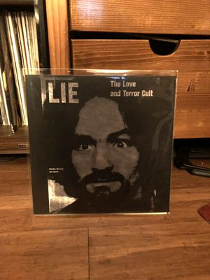 """Charles Manson """"LIE, The Love and terror cult"""" Red Vinyl for Sale in Seattle, WA"""