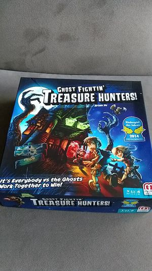 Ghost fightin' treasure hunters board game for Sale in Washington, DC