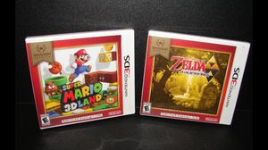 Lot of 2 BRAND NEW NINTENDO 3DS GAMES Mario 3D Land + Zelda Link Between Worlds Pickup Acton ma or ships for $3 more for both for Sale in Westford, MA