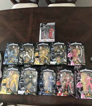 Power Ranger Action Figures Mighty Morphin for Sale in Cypress Gardens, FL