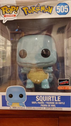 Funko POP Squirtle 505 NYCC Exclusive for Sale in Elizabeth, NJ