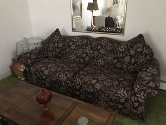 Three pieces...couch, chair, ottoman for Sale in Mount Pleasant,  PA