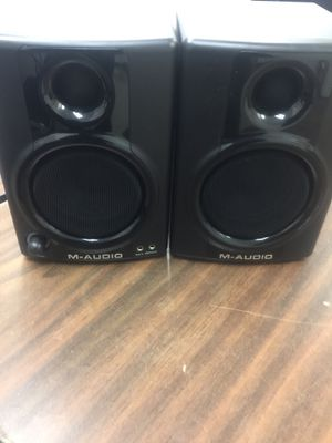 M-audio av30 monitors for Sale in Washington, DC