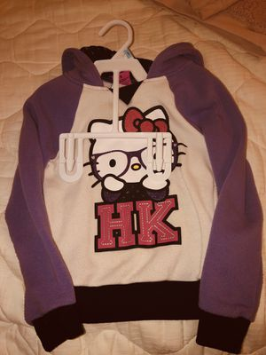 Hello Kitty hoodie little girls size 5 for Sale in San Antonio, TX