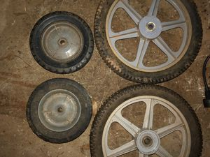 Lawn mower wheels for Sale in Stone Mountain, GA