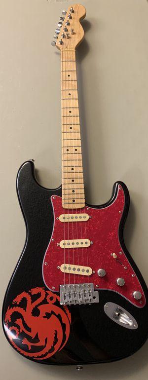 Custom Game Of Thrones fan electric guitar - pro feel for Sale in Walnut, CA