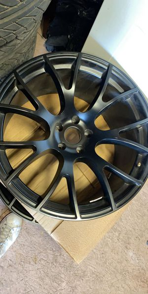 OEM hellcat rims for Sale in Dallas, TX