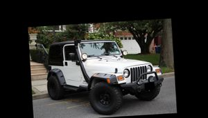 I sell 2004 Jeep Wrangler 4WDWheels One Owner for Sale in Rockford, IL