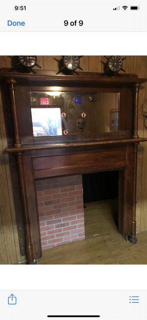 Fireplace mantle Antique for Sale in Rockville, MD