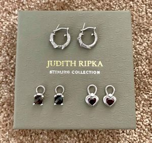 Judith Ripka Sterling Silver (925) Interchangeable Charm Earring for Sale in Union City, CA