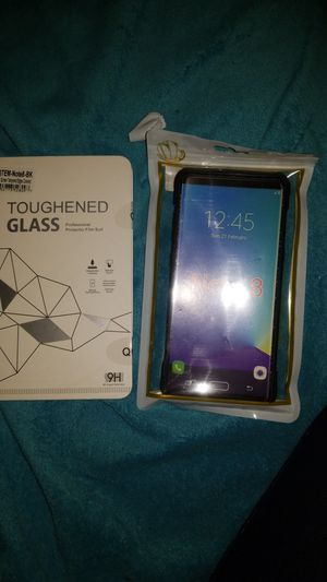 Screen and case for Note 8 for Sale in Whittier, CA