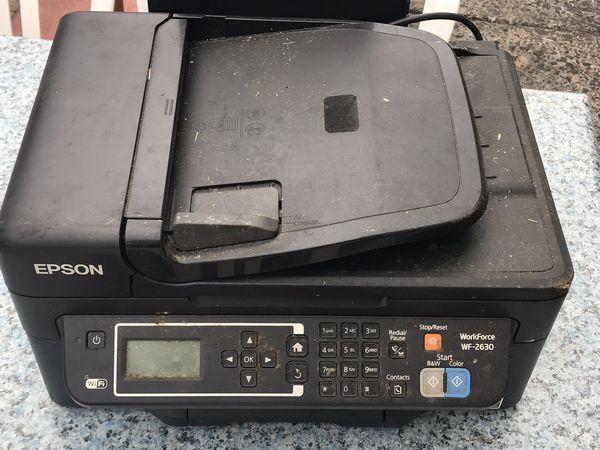 Epson WorkForce WF-2630 - multifunction printer (color)