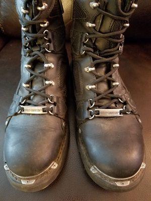 Harley Davison boots sizes 10 for Sale in Huntington Beach, CA