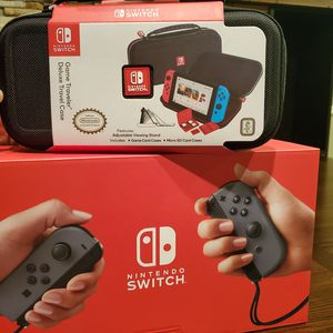 New Nintendo Switch V2 w/ Deluxe Travel Case for Sale in Saint Charles, MO