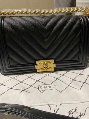 Beautiful caviar leather boy bag for Sale in Fontana, CA