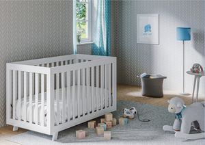 Storkcraft Beckett 3 in 1 Convertible Baby Crib, White for Sale in Las Vegas, NV