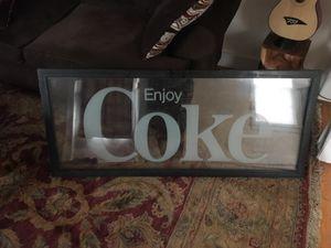 "Authentic antique ""Enjoy Coke"" sign for Sale in Nashville, TN"
