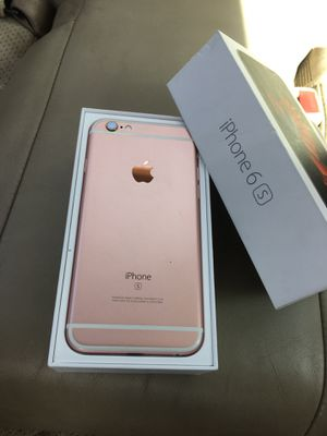 iPhone 6s rose gold for Sale in Hillsboro, OR