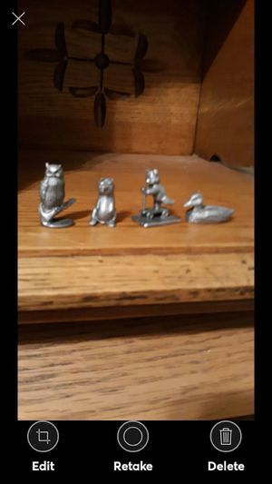 COLLECTION 4 VINTAGE SPOONTIQUES PEWTER for Sale in Lynchburg, VA