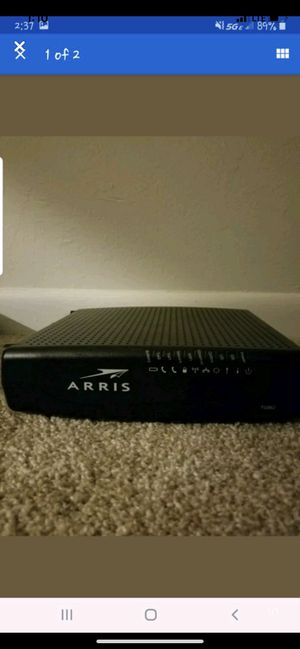 Arris Touchstone Router for Sale in Fort Myers, FL