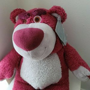 Disney Toys Story 12in Lotso Bear with sweet strawberry scent for Sale in Houston, TX