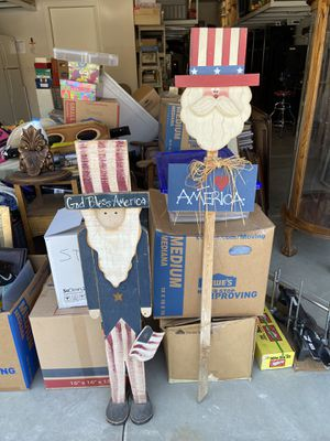 4th Of July Yard Decorations for Sale in Jurupa Valley, CA