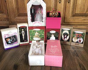 Barbie Hallmark Christmas Ornaments- 9 in Lot for Sale in La Mirada, CA