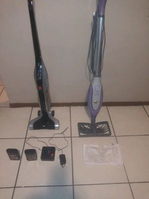 Vacuum cleaner and steam mop for Sale in Tampa, FL