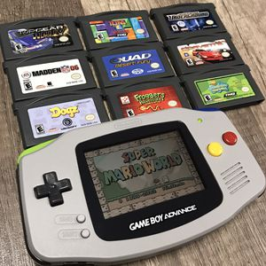 Nintendo Gameboy Advance with Games for Sale in Affton, MO