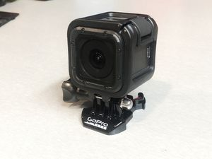 GoPro Hero 5 Session with mount and frame for Sale in Roseville, CA