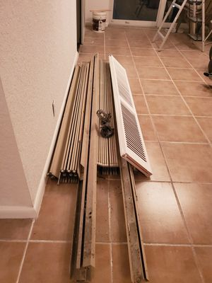 Complete accordion hurricane shutter for patio doors approximately 10 ' x 7' for Sale in Oakland Park, FL
