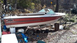 Silver line boat and trailer - I pay $50 to remove for Sale in Lisbon, CT