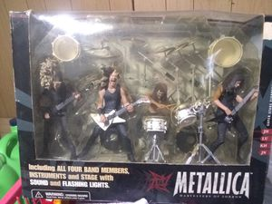 Metallica Harvesters of Sorrow Super Stage Figures ENTIRE BAND - James Hetfield, Kirk Hammett, Jason Newsted, Lars Ulrich for Sale in Cheektowaga, NY