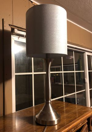 Silver lamp new for Sale in East Wenatchee, WA