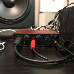 Focusrite Scarlett Solo Audio Interface (3rd Gen) for Sale in Burien,  WA