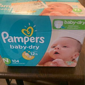 Diapers - Pampers for Sale in Moreno Valley, CA