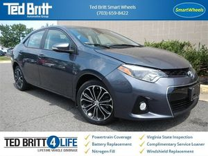 2016 Toyota Corolla S for Sale in Fairfax, VA