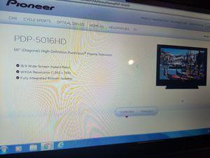 "50"" plasma tv free cracked screen for Sale in Mesa, AZ"