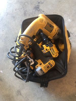 Dewalt power tools. for Sale in Richland, WA
