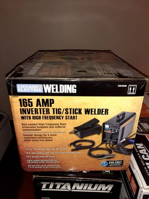 165 Amp Tig/Stick Welser Inverter for Sale in Norcross, GA