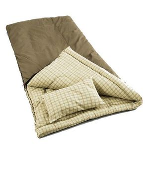 Coleman Big Game -5 Degree Canvas Sleeping Bag for Sale in Houston, TX