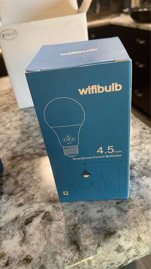 WiFi bulb for Sale in Sioux Falls, SD