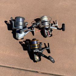 3 Spinning Reels. Penn 5500, Olympic VS 4000, Opus 5000 for Sale in Del Mar,  CA