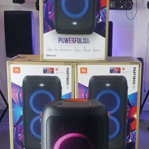 Brand New JBL Speaker Partybox 100! Bluetooth. USB. Rechargeable Baterry. NUEVOS EN CAJA! for Sale in Miami, FL