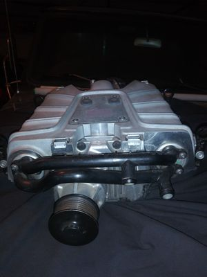 AUDI Factory Supercharger with High Flow Fuel Injectors and Throttle Body for Sale in Perris, CA