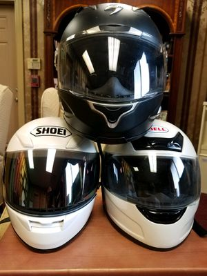 Motorcycle helmets; $75 a piece or $200 for all 3 for Sale in Midlothian, VA