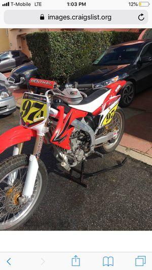 '07 Honda Flattrack bike for Sale in San Francisco, CA