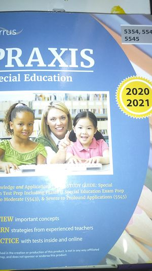 Praxis Special Education Study Guide for Sale in Shickshinny, PA